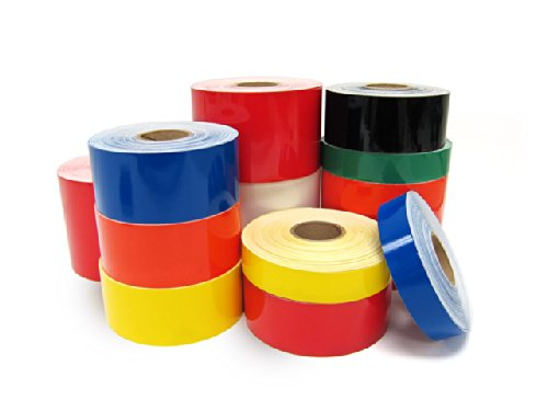 """Vinyl Label Supply 1/2""""x150' Battleship Gray Color for use with LabelTac 4 and PRO Premium Models"""