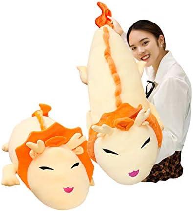 Soft Giant Dragon Pillow Home Decoration Christmas Birthday Gift for Adults Kids Girls Boys 36//44//52//60 Inches,3 Colors Hofun4U Dragon Plush Pillow Dragon Stuffed Animals Doll Toy
