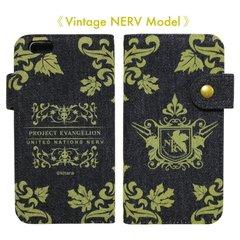 エヴァンゲリオン新劇場版 iPhone6s iPhone6 対応 ネルフ デニムケース VINTAGE NERV Modelの商品画像