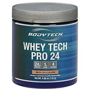 BodyTech Whey Tech Pro 24 Rich Chocolate (4.29 oz Powder) by The Vitamin Shoppe