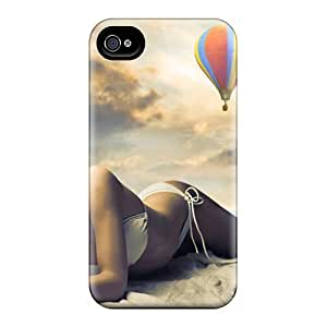 XYVcTHa7950aixbt Resting In Beach Fashion Tpu 4/4s Case Cover For Iphone