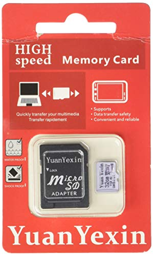 YuanYexin Micro SD 32GB SDHC U1 pass H2testw Memory Card Plus Adapter (Class 10 U1 UHS-I V10 A1 MicroSD HC Extreme Pro) Ultra High Speed UHS-1 U1. Cell Phone, Tablet, Camera TF MicroSDHC Flash (32GB) ()