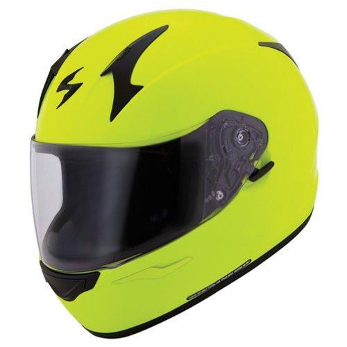 Scorpion EXO-R410 Neon Yellow Full Face Helmet - Large