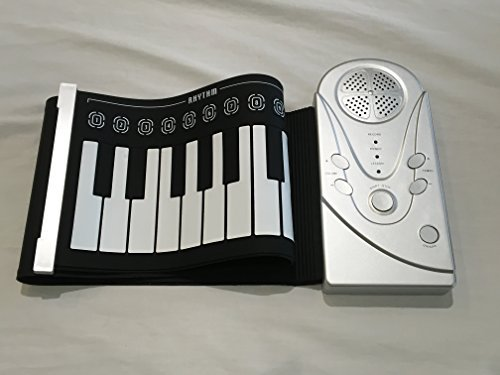 Soft Roll Up Electronic Flexible Piano Keyboard 61 Keys (Japan import) by Firestar