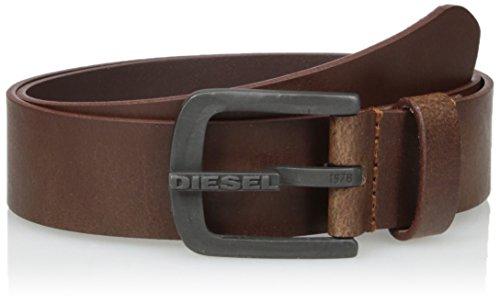 Diesel Men's Dart Leather Belt, Shopping Bag, 85