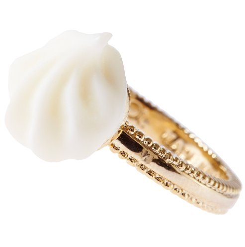 [Q-pot. Sugar Snow Cream Ring Fashion Jewelry New From Japan] (Vintage Costume Jewelry Images)