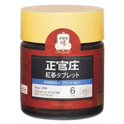 正官庄 紅蔘タブレット 120粒 B00TSC65UU