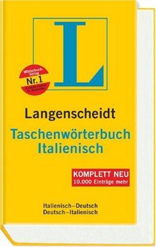 Langenscheidt Taschenwörterbuch Italienisch: Italienisch-Deutsch/Deutsch-Italienisch