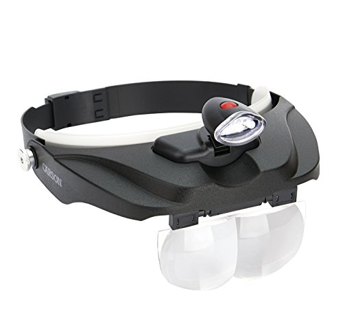 Optical MagniVisor Head Worn Magnifier Different product image