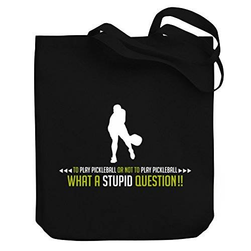Pickleball To To Or Canvas Play Pickleball Bag Tote Not Play pwpZqSCP