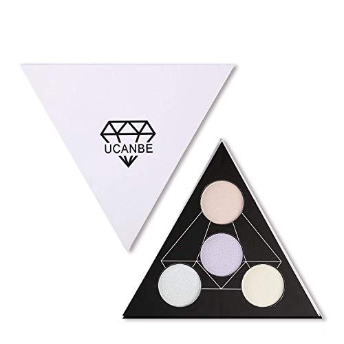 UCANBE Highlighter Palette Shimmer Illuminating
