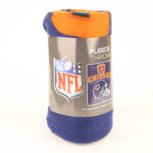 """NFL Fleece Blanket Headquarters: Super Soft Fleece, Measures Approx. 50"""" x 60"""""""
