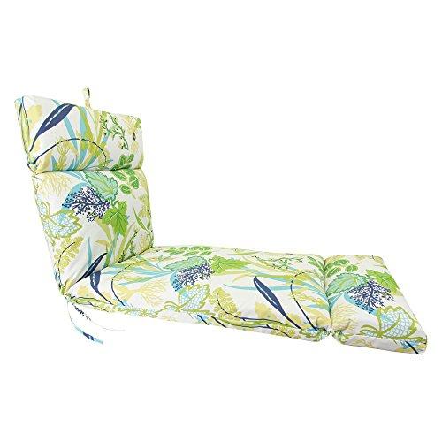 Jordan Manufacturing 72 x 22 in. Outdoor Chaise Lounge Cushion (Cushions Replacement Jordan)