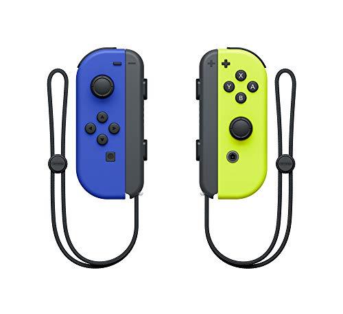419k DFqj%2BL - Nintendo Blue/ Neon Yellow Joy-Con (L-R) - Switch