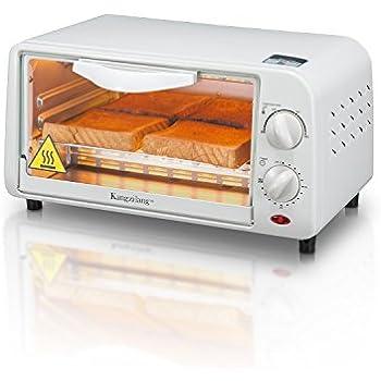 Amazon Com Black Decker 4 Slice Toaster Oven White