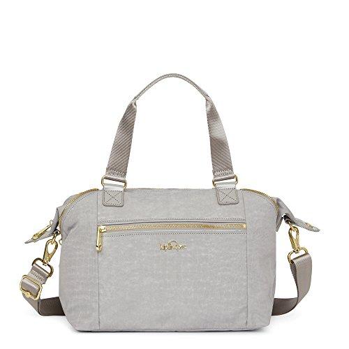 Kipling Women's Art S Handbag One Size Slate Grey Croc