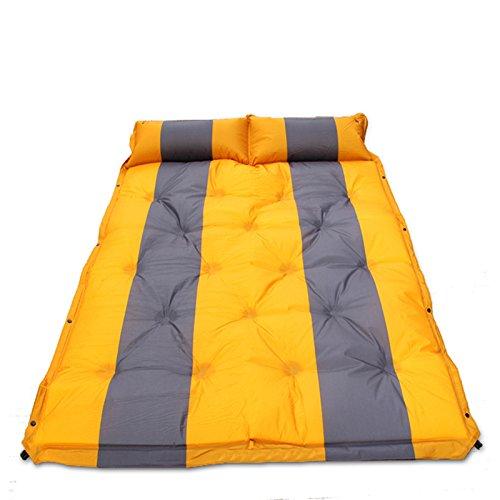 GYP アウトドアSuvのモデルは、自動インフレータブルベッドを適用します。エアベッドカーベッドインフレータブルベッド旅行ベッド寝台カーショックベッドエアベッド ( 色 : イエロー いえろ゜ , サイズ さいず : 5CM )   B078RDZVH6