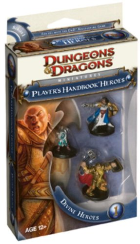 (Dungeons & Dragons 4th Edition Miniatures: Player's Handbook Heroes: Series 1 - Divine Heroes)