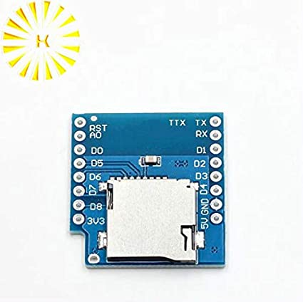 Amazon.com: Gimax - Protector de tarjeta micro SD para WeMos ...