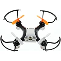 X-Drone Nano 2.0 - Beautiful Design and Durable - Aerial Drone Quadcopter Radio Controlled RC flyer Quad Copter Helicopter - nano micro mini small - Fly it, Love it! - Black