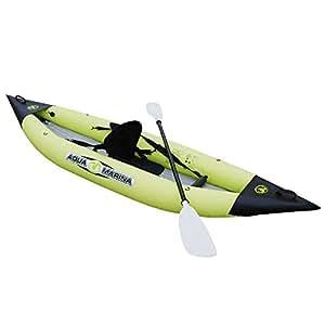 Aqua Marina Kajak K1 - Kayak sit on top ( 2 personas ) , color verde