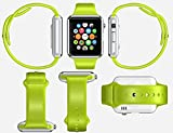 ETbotu A1 Bluetooth Waterproof GSM Touch Screen Smart Wrist Watch For Android IOS Phone Green