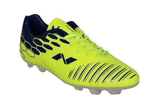 Nivia Premier Cleats Football Shoes  Yellow Blue    10 UK