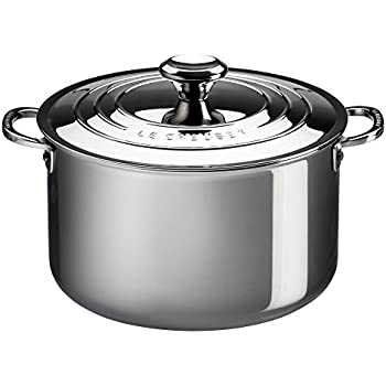Amazon Com Le Creuset Ssp3100 24 Tri Ply Stainless Steel