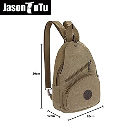 Amazon.com: Womens Backpack 2017 Spring Style Canvas Female Small Double-Sided Chest Bag Ladies Fashion Travel FB1187: Kitchen & Dining