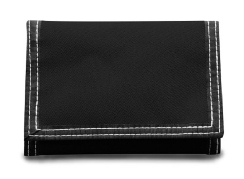 CLASSIC TRI-FOLD WALLET, Black, Case of 48