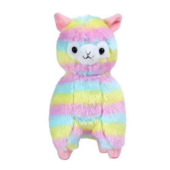 Rainbow Alpaca Plush | 6.7 Inches | Alpacasso Plushies 2