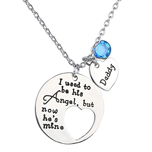 JOVIVI Crysal Memorial Necklace Memory