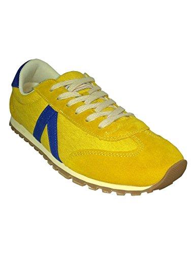 El Ganso Zapatillas RWALKING Amarillas 45: Amazon.es: Zapatos y complementos