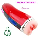QJFFJ- Mästurbators Cup Pocket Pleasure Men Adult Toys Silicone, Automatic Electric Sucking Cup – Trainer Sleeves