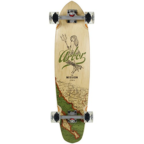 ARBOR Longboard GROUNDSWELL MISSION Caliber Trucks / Dregs ()