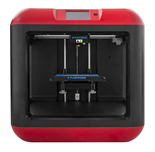 FlashForge Finder 3D Printers with Cloud, Wi-Fi, USB cable and Flash drive connectivity]()
