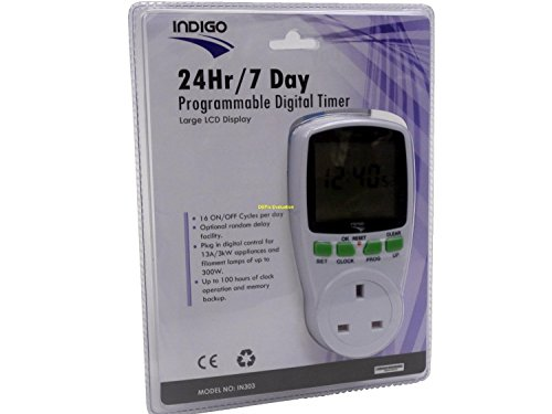 24 hour 7 Day Digital Timer With Large LCD Display Home, holiday and security and use SPECIAL OFFER ONLY WHILE STOCKS LASTS