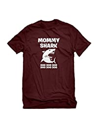 Indica Plateau Mens Mommy Shark T-Shirt