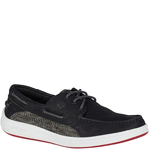 where to buy cheap visa payment Sperry Top-Sider Gamefish 3-Eye Knit Boat Shoe Black really extremely sale online 8uw7S9y9