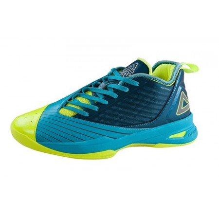 PEAK - Soaring low zapatilla de baloncesto para hombre/mujer robin blue