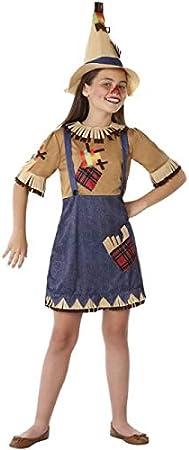Atosa Disfraz de Espantapájaros para niña 5 a 6 años: Amazon.es ...