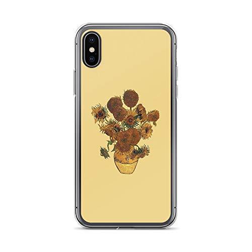 ar Case Cases Cover Van Gogh Sun Flowers Grunge ()