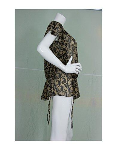 Aller Simplement - Diseños negros paño superior CH1C crema Beige