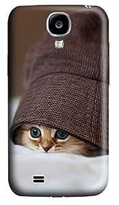 Samsung S4 Case Cute Kittens Hats Eye 3D Custom Samsung S4 Case Cover