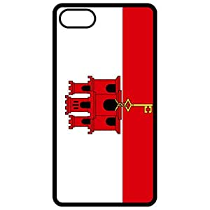 Gibraltar Flag Black Apple Iphone 6 (4.7 Inch) Cell Phone Case - Cover