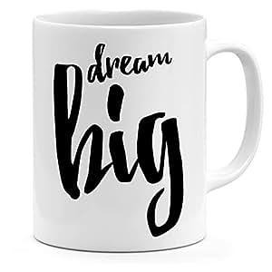 Loud Universe Ceramic Dream Big Mug, White