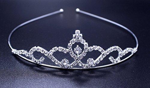Exquisite Rhinestones Bridal Wedding Crown Headband by Exquisite