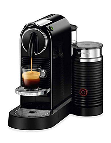 Nespresso CitiZ & Milk Espresso Machine, Black (Discontinued Model)