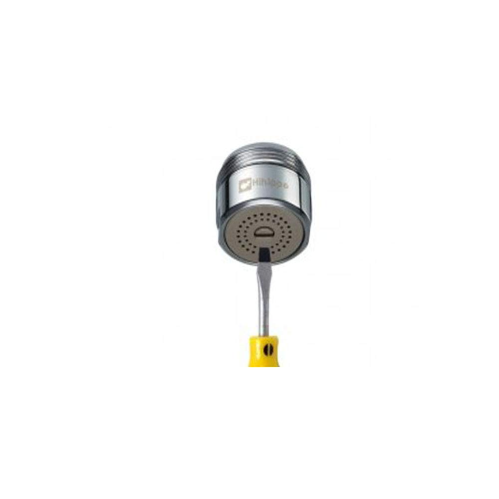 cromo pulido M24 Econove grifo Macho Hembra M24mm Aireador y Regulador antisalpicaduras para Grifo de cocina o ba/ño con adaptador de metal