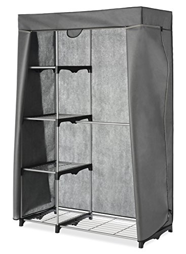 Whitmor Cover Only For Double Rod Closet With Heavy Duty